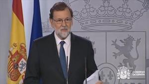 Rajoy quiere las riendas de Catalunya para frenar la DUI
