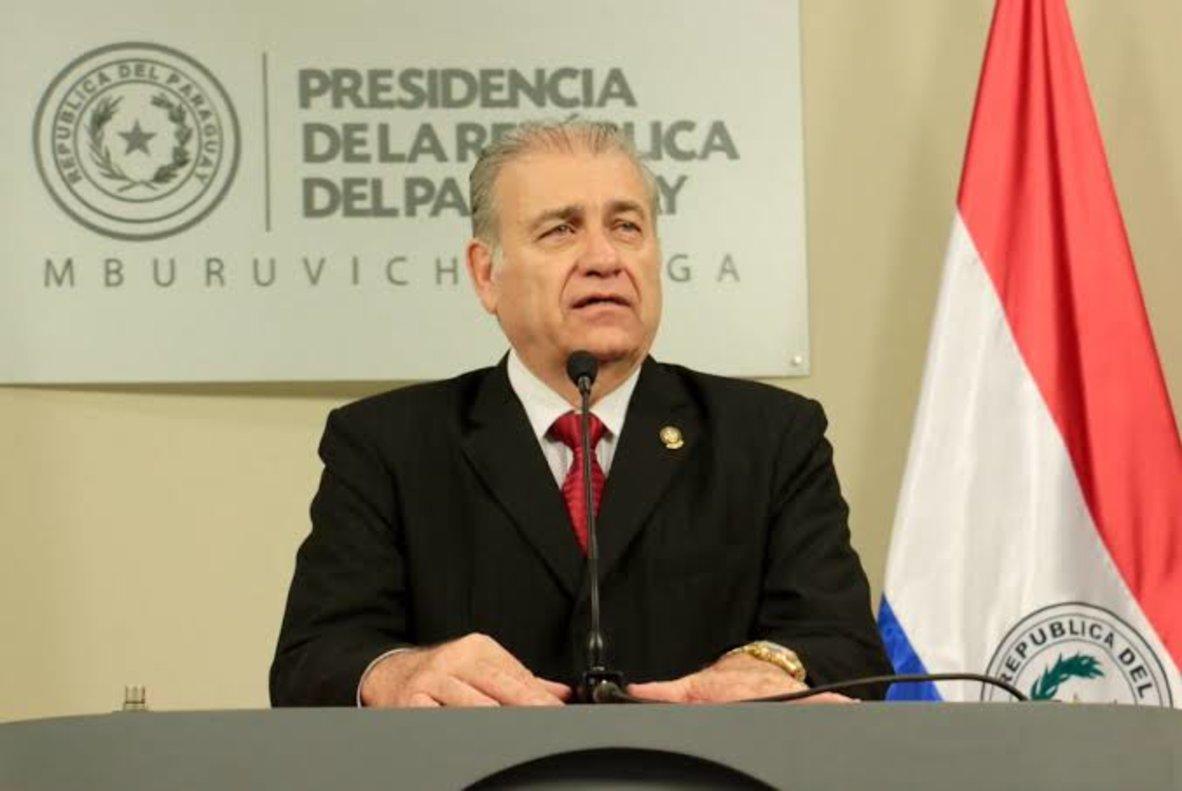 Ramón González Daher, expresidente de la Asociación Paraguaya de Fútbol.