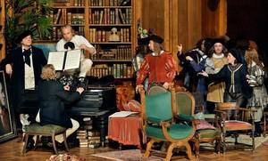 Una escena del primer acto de Los maestros cantores de Núremberg, en la producción de Barrie Kosky parael Festival de Bayreuth.