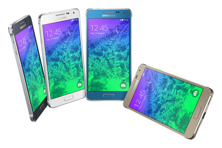 El nou Samsung Galaxy Alpha en diferents colors