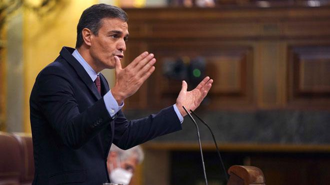 Sánchez advierte a Abascal que no caerá en sus provocaciones.