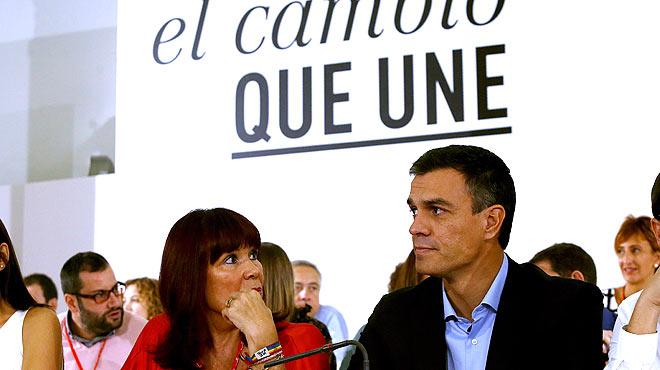 Pedro Sánchez: A quienes os incorporáis, venidos de fuera y dentro del partido os exigiremos trabajar duro y con ejemplaridad.