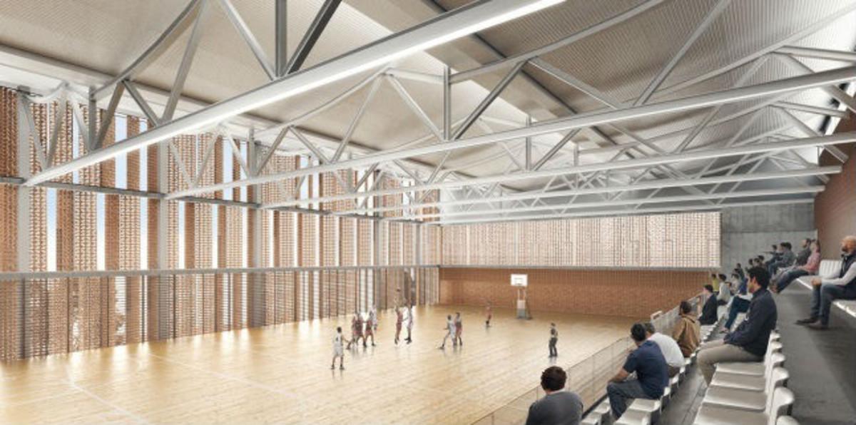 Comencen les obres per al nou complex esportiu de la Sagrera
