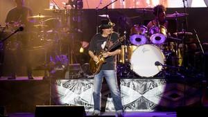 Santana, en su actuación en Peralada.