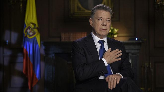 Santos asegura en su despedida que el mayor logro de su Gobierno fue la paz con las FARC.