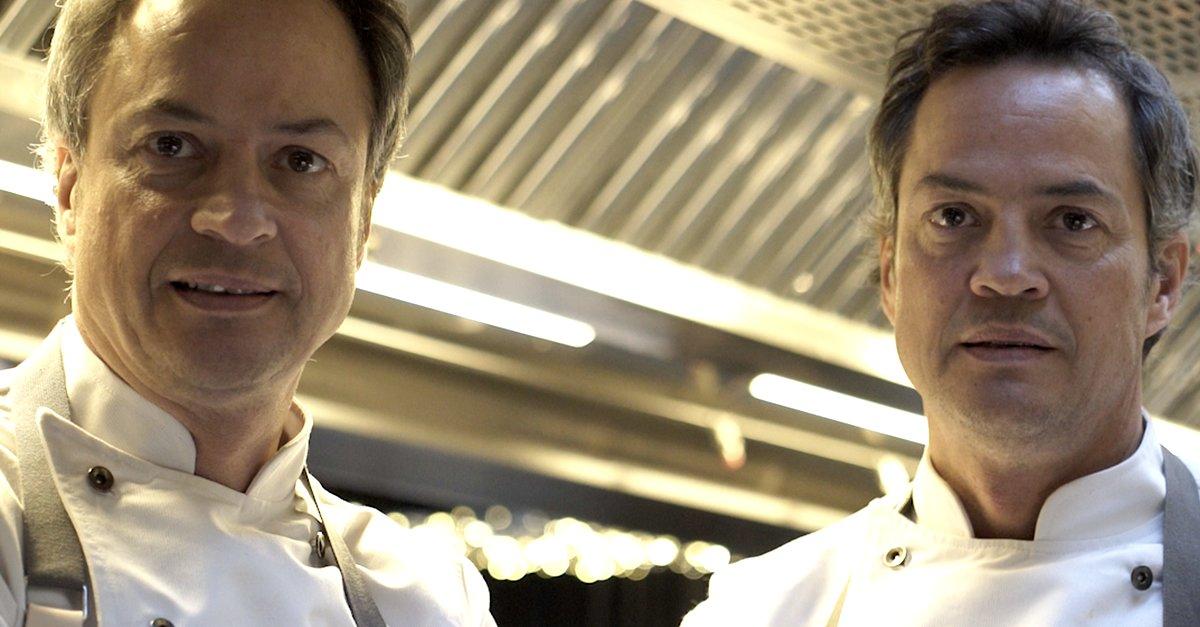 Sergio y Javier Torres apuestan por la alimentación saludable.