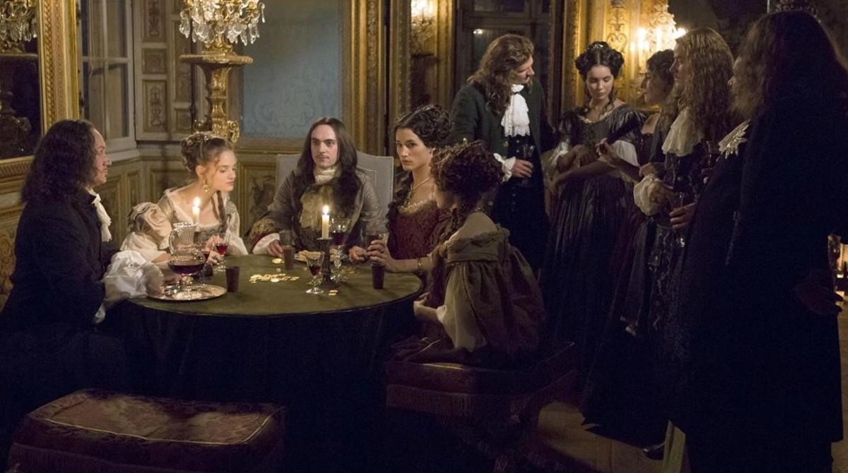 Una imagen de la primera temporada de 'Versailles'.