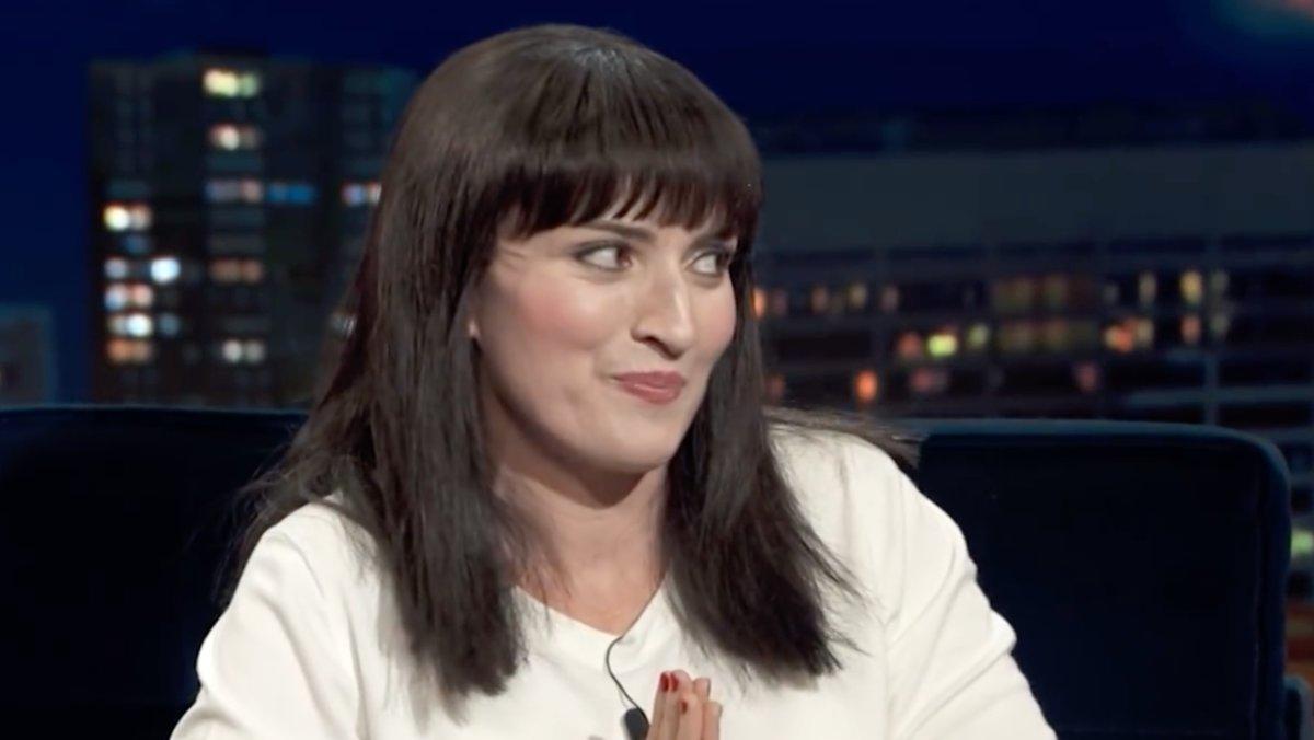 Silvia Abril como 'Marie Kon 2' en 'Late Motiv'.