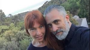 Silvia Fominaya y Sergi Arola, cuando estaban juntos.