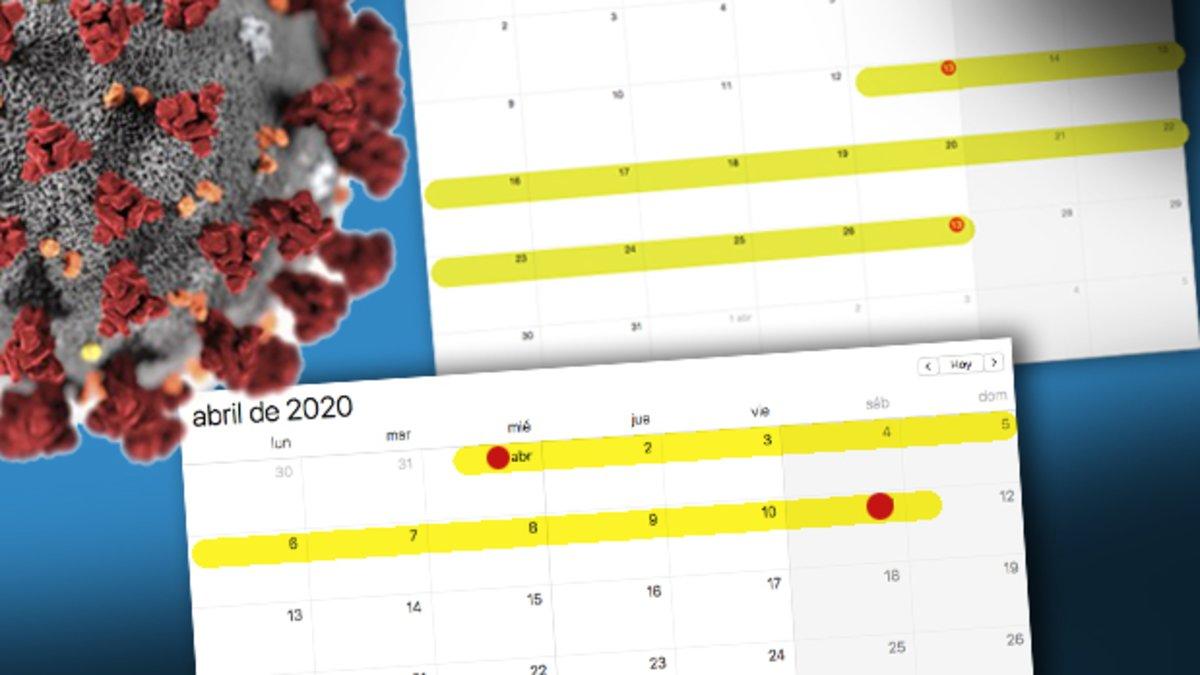 Coronavirus hoy 2 de abril As est la situacin