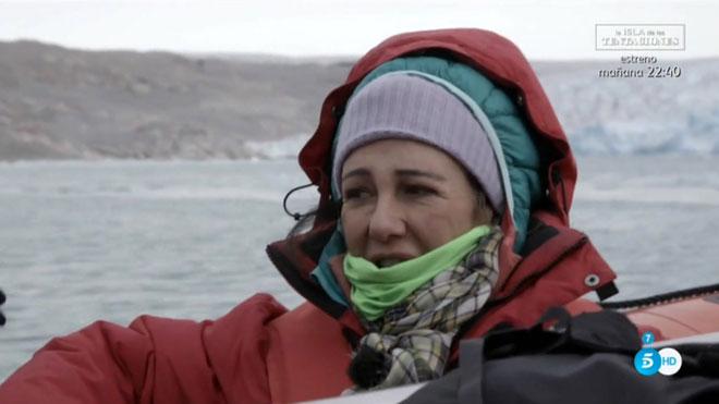Ana Botín va veure icebergs i va parlar del seu pare