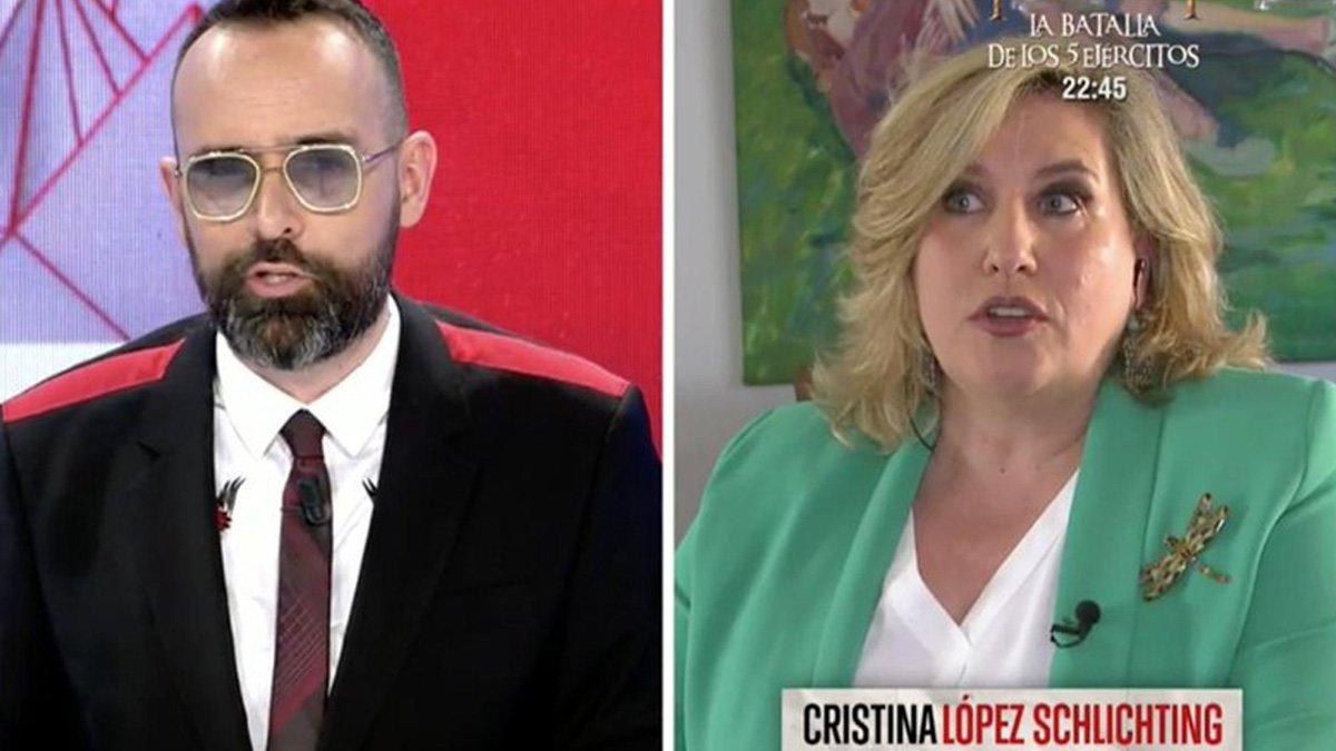 """El comentario machista de Cristina López Schlichting en 'TEM': """"Sánchez mandó a su mujer a la manifestación del 8-M"""""""
