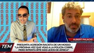 """Risto estalla contra un portavoz de los Mossos: """"¡Está defendiendo a un racista confeso!"""""""