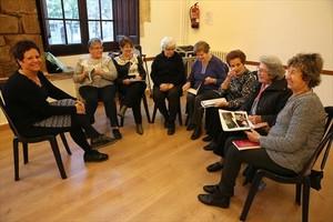 En Torre Llobeta 8Algunas de las integrantes de la asociación Dones en Forma.