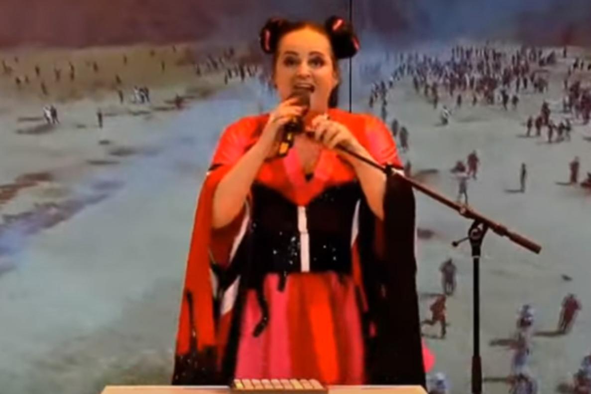 Una parodia de Netta en la televisión holandesa desata las críticas de Israel