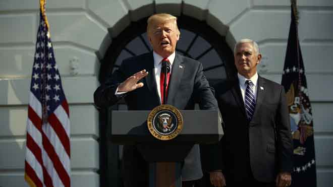 Trump saca pecho por los buenos datos económicos