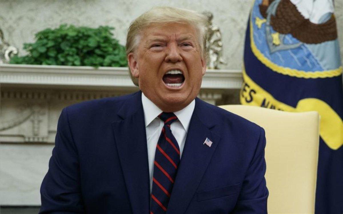 Donald Trump, el presidente de los Estados Unidos.