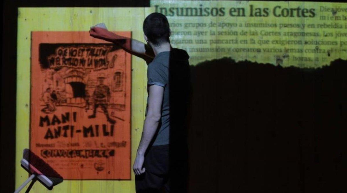 Una imagen de la obra de teatro 'Mili KK' .