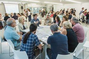 Una sesión participativa del PDU.