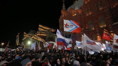 Els observadors sostenen que no hi va haver competència en les eleccions russes