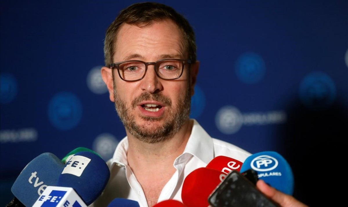 El vicesecretario del PP, Javier Maroto.