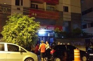 Según Defensa Civil las víctimas estaban dentro del ascensor de servicio en el momento del accidente.