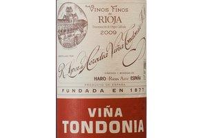 Vino Viña Tondonia Rosado Gran Reserva 2009.