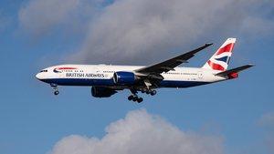 Vuelo de la compañía British Airways