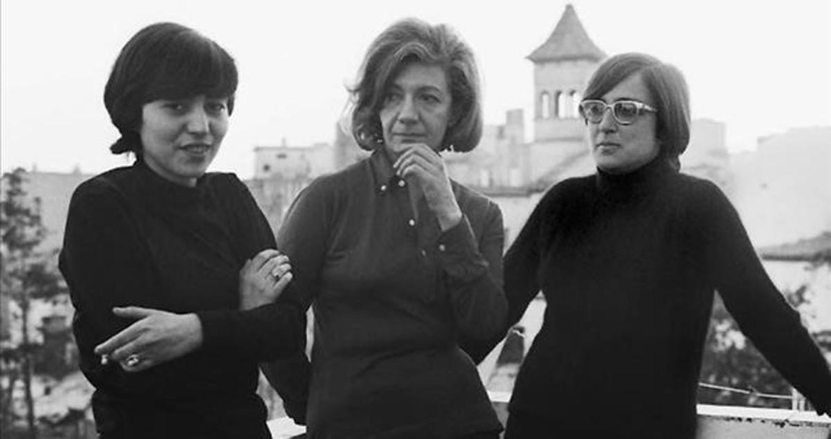Ana María Moix, Ana María Matute y Esther Tusquets.