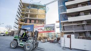 La cocapital del Vallès Occidental, Terrassa, ha acogido numerosas promociones de vivienda, que le han permitido crecer a buen ritmo.