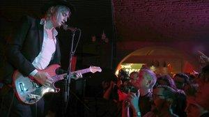 Pete Doherty, en un concierto en Barcelona en el 2016.