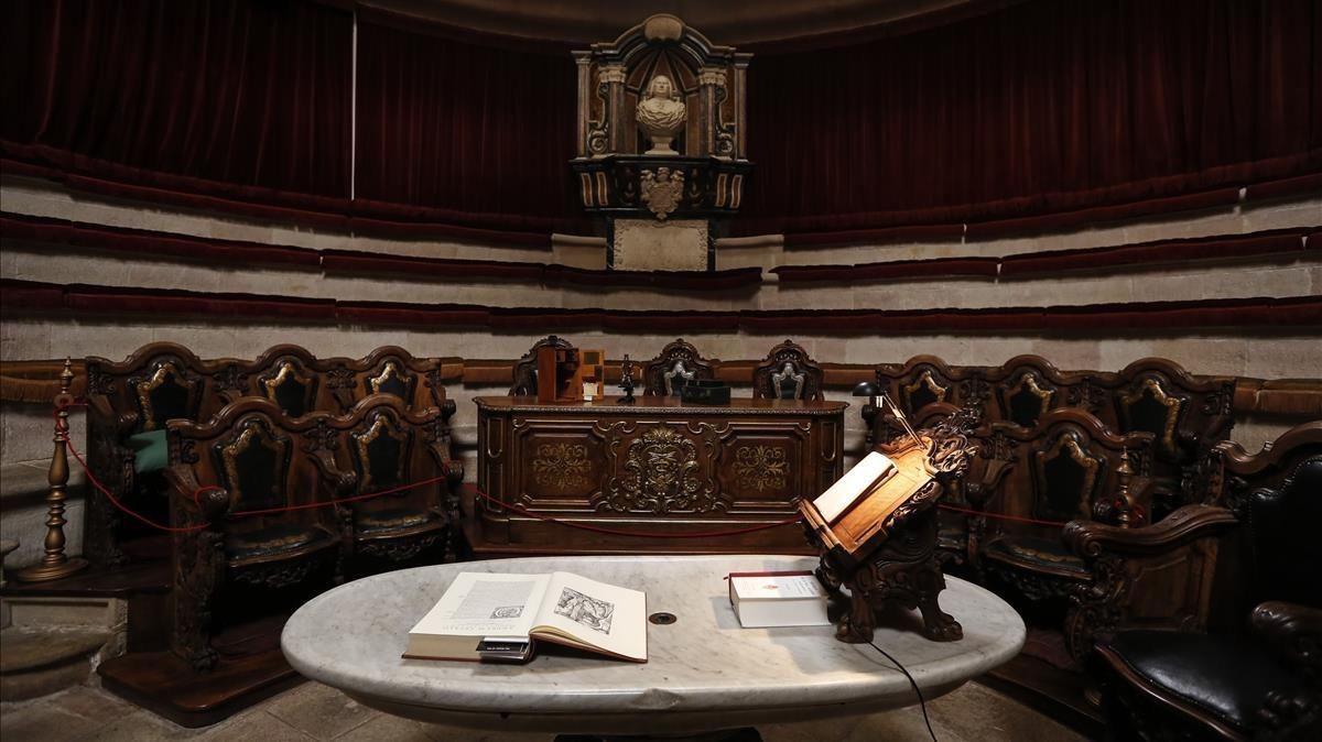 El Anfiteatro de Anatomía de Barcelona.