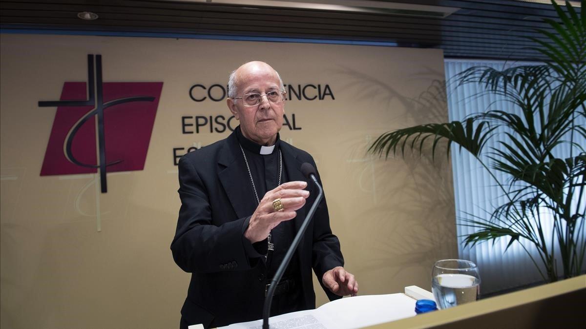 El cardenal Ricardo Blázquez, presidente de la Conferencia Episcopal Española.