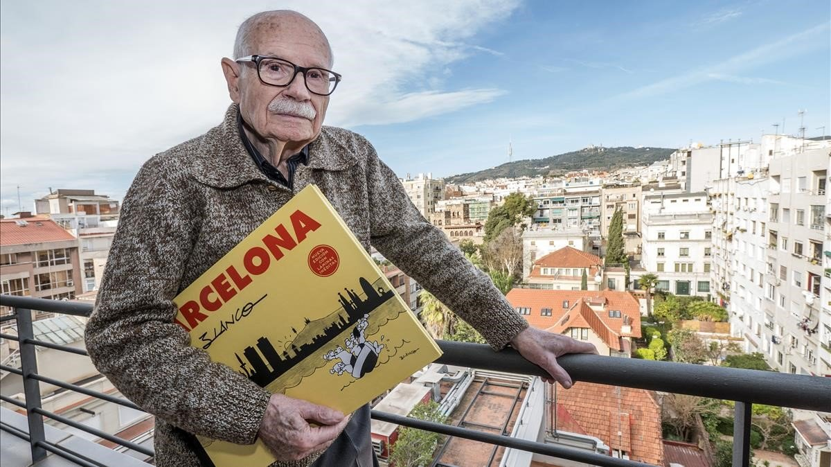 Josep Maria Blanco, en enero del 2018 en Barcelona.