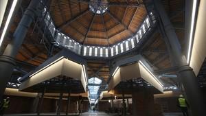 El mercat de Sant Antoni reobrirà al maig amb el repte de contenir la gentrificació