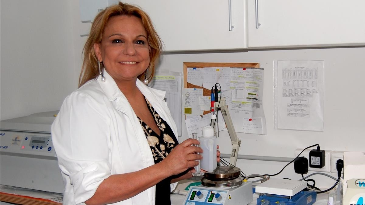La investigadora y profesora Celia Sánchez-Ramos, experta en visión.
