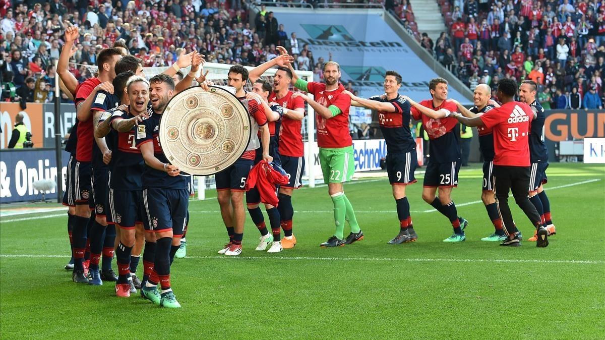 El Bayern encadena su sexta Bundesliga