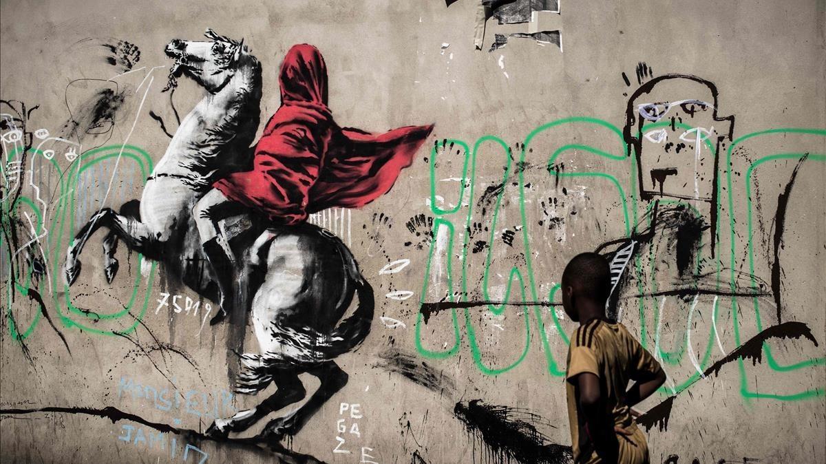 Banksy dice no tener 'nada que ver' con exposición en Moscú