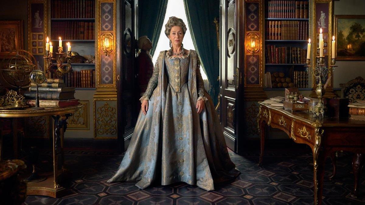 Helen Mirren protagoniza 'Catalina la Grande', la serie de Skybasada en la poderosa emperatriz rusa.