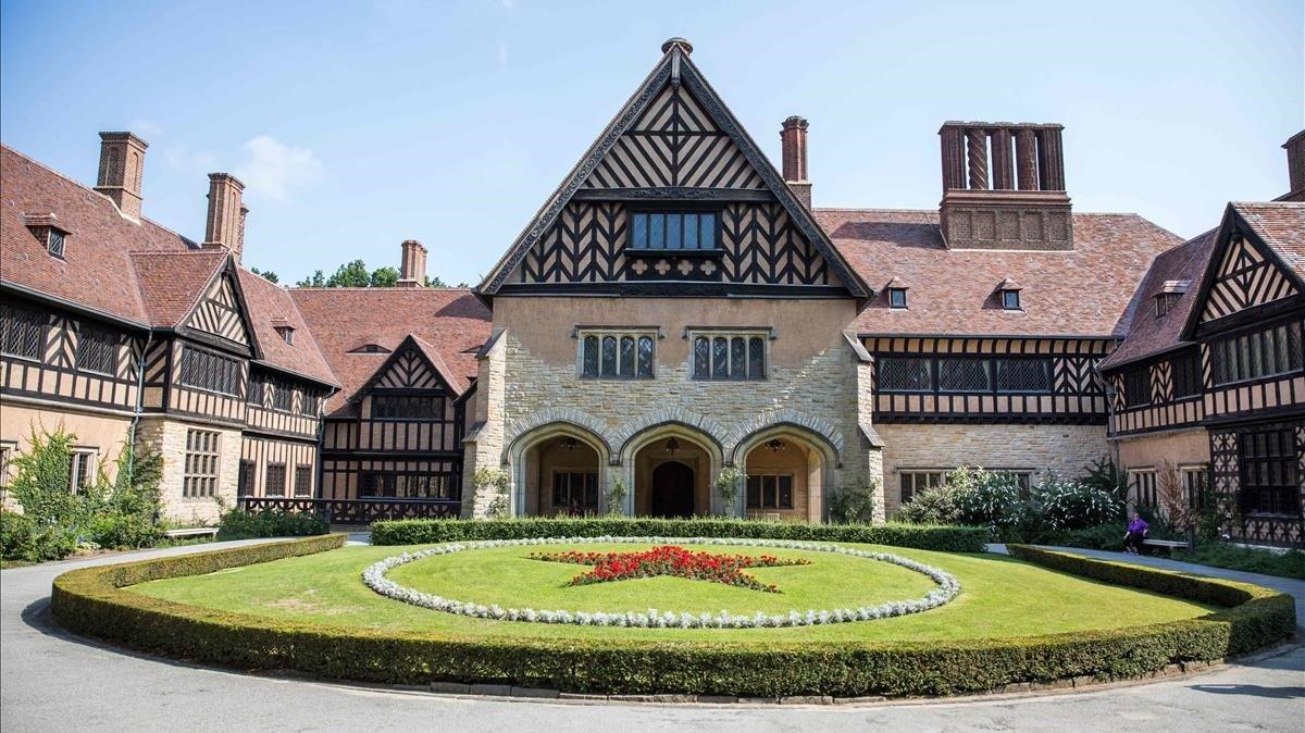 Imagen del palacio de Cecilienhof, en Postdam, una de las últimas construcciones de la dinastía Hohenzollern.