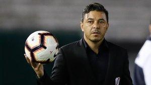Gallardo vuelve a disputar la Libertadores un año después de ganarla en el Bernabéu.