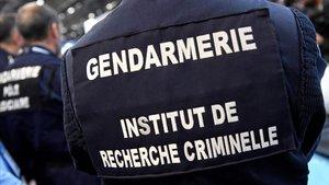 Un agente de la gendarmería francesa.