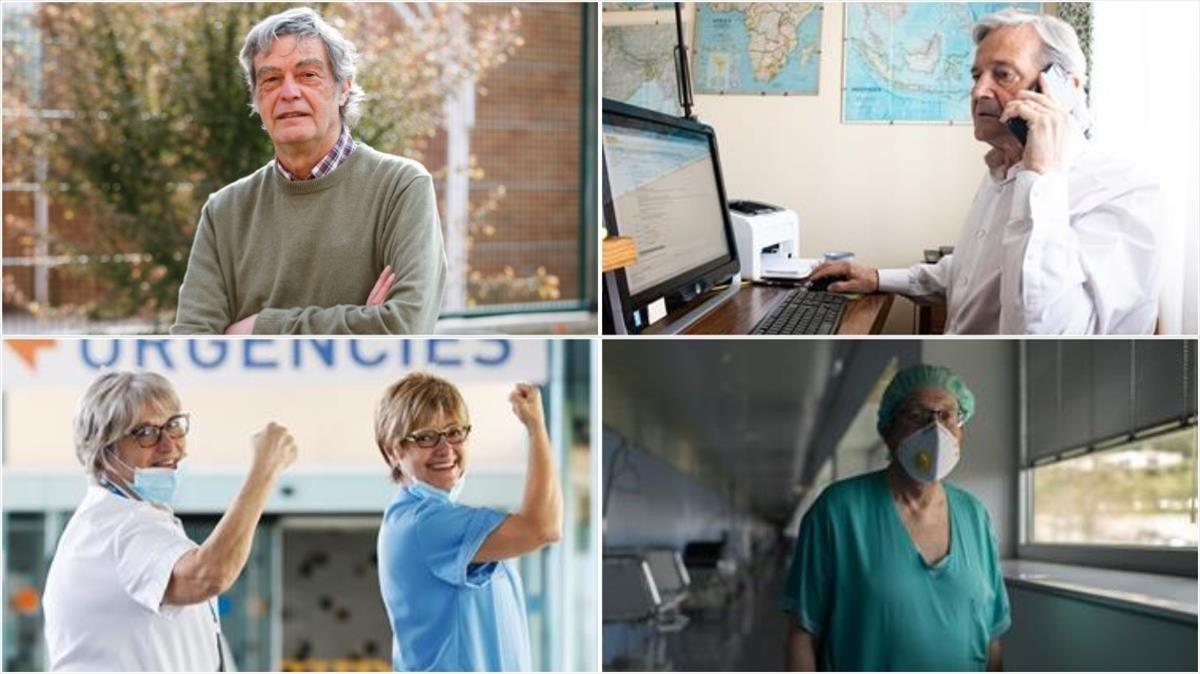 Sanitaris jubilats tornen a la trinxera pel coronavirus