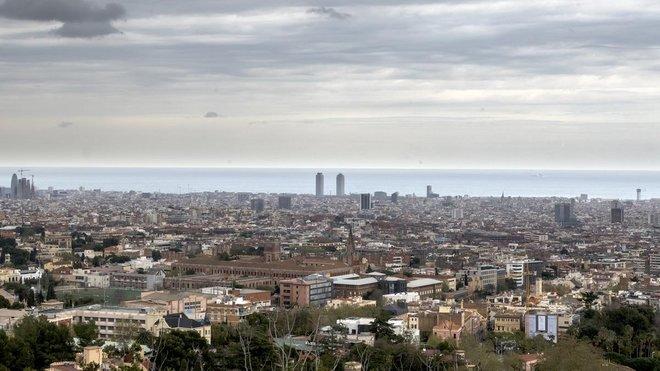 Barcelona encadena una setmana amb l'aire més pur de l'últim segle