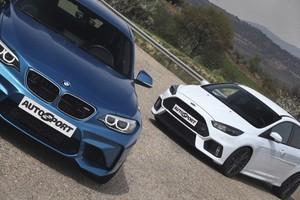 BMW M2 Coupé vs Ford Focus RS: Polos opuestos