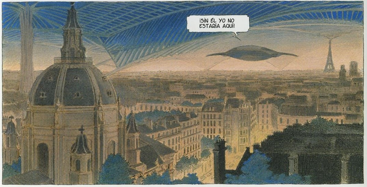 Viñeta de Volver a París. La noche de las constelaciones.