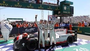 Porsche celebró por todo lo alto la 19ª victoria en Le Mans