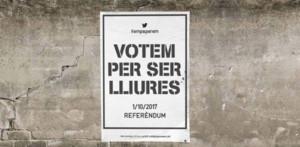 cartel referéndum