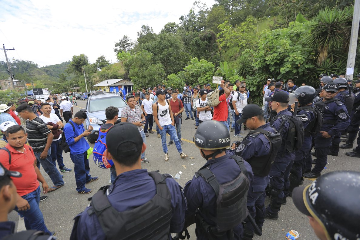 Agua Caliente 160 Honduras 18 10 Migrantes