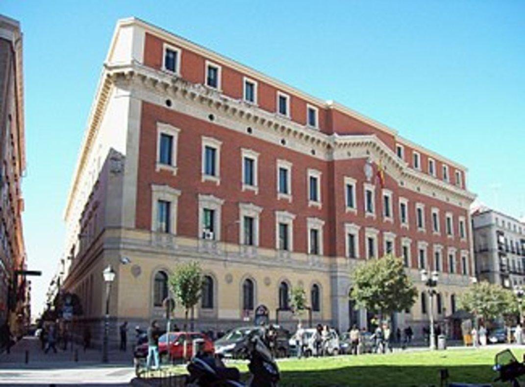 Sede del Tribunal de Cuentas en Madrid.